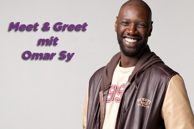 Treffen Sie Omar Sy in M&#xFC;nchen. (Bild: Senator-Film)