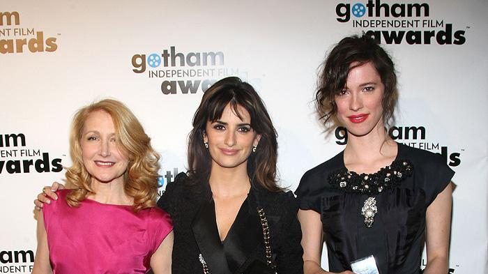 18th Annual Gotham Independent Film Awards NY 2008 Patricia Clarkson Rebecca Hall Penelope Cruz