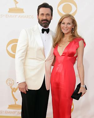 Jon Hamm Sports Bushy Beard at 2013 Emmys: Hot or Not?
