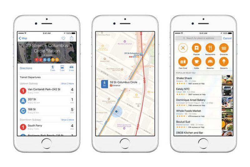 Apple expands Maps public transit directions to Boston and Sydney