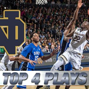Notre Dame's Jerian Grant's Top 4 Remarkable Plays vs Duke