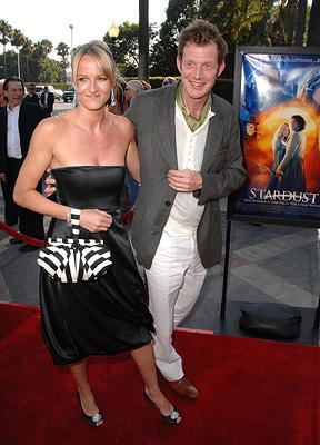 Jason Flemyng and guest Photo: Steve Granitz, Wireimage.com