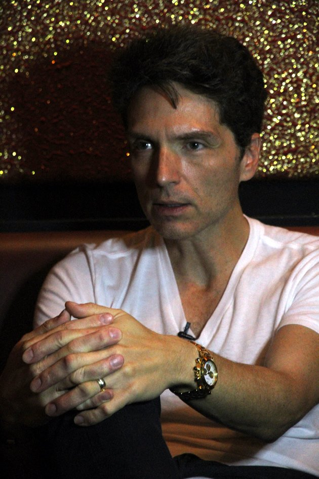 Richard Marx recalls where he was and what he was doing when he got wind of Whitney Houston's death. (Yahoo! photo)