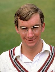 Portrait of Peter Roebuck of Somerset, May 1981. (Adrian Murrell/Allsport) 
