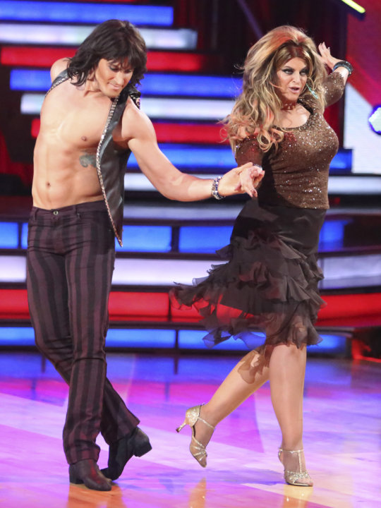 Maksim Chmerkovskiy and Kirstie Alley (10/8/12)
