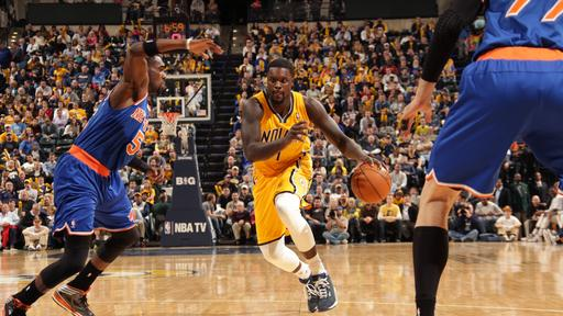Efficient offense pushes Pacers past Knicks 117-89