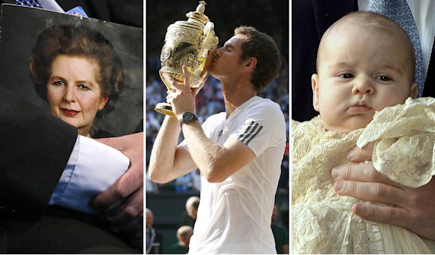 Andy Murray beats Prince George and Thatcher's death to Facebook crown
