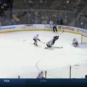 Carter Hutton Save on Alexander Steen (17:32/1st)