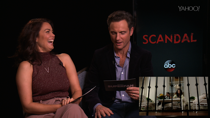 'Scandal' Stars Bellamy Young, Tony Goldwyn Swap Roles and It's Hilarious