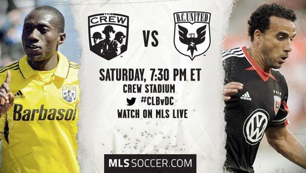 Columbus Crew vs. DC United | MLS match preview