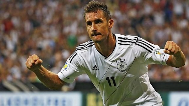 Miroslav Klose of Germany (Reuters)