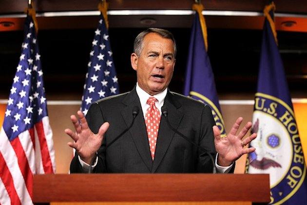 'We are at a stalemate' on debt talks, says Boehner
