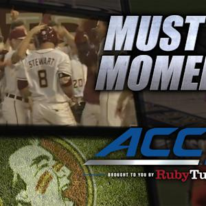 FSU Blasts 2 Grand Slams & 15 Runs vs Pittsburgh | ACC Must See Moment