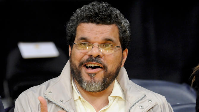 FILE - In this April 6, 2012 file photo, actor Luis Guzman attends an NBA basketball game between the Houston Rockets and the Los Angeles Lakers in Los Angeles.   Guzman, who lives in Sutton, Vt., alleged in court documents that Joda Hodge was stalking him. Guzman was granted a temporary a temporary restraining order in April. In a court settlement Thursday, May 21, 2015, the 39-year-old Hodge agreed to not have contact with Guzman. (AP Photo/Gus Ruelas)