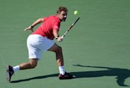 Stanislas Wawrinka during his US Open match against Andy Murray in New York on September 5, 2013. Six-time major champion Novak Djokovic will attempt to make Wawrinka's maiden last-four appearance a painful experience