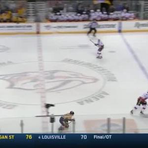 Flames at Predators / Game Highlights