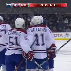 Max Pacioretty Goal on Curtis McElhinney (14:36/1st)