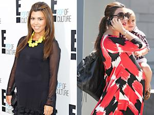 How Pregnant Kourtney Kardashian Has Dressed Her Baby Bump