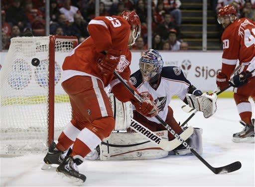 Blue Jackets rally to beat Red Wings 3-2