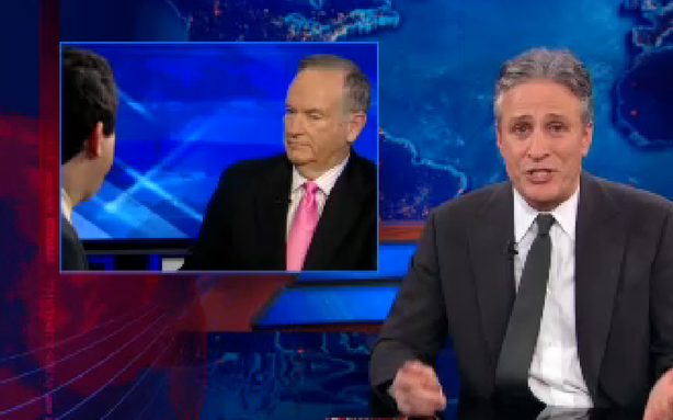 Jon Stewart vs. Bill O'Reilly and His War on Christmas: It's On