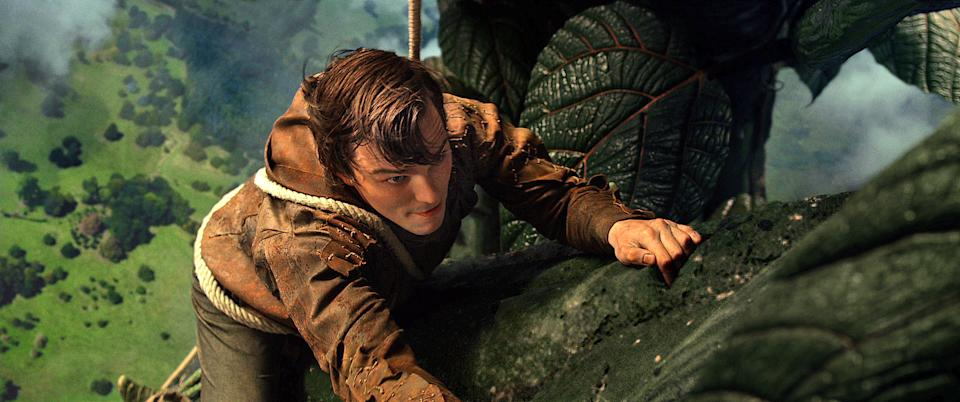 "This film image released by Warner Bros. Pictures shows Nicholas Hoult in a scene from ""Jack the Giant Slayer."" (AP Photo/Warner Bros. Pictures)"