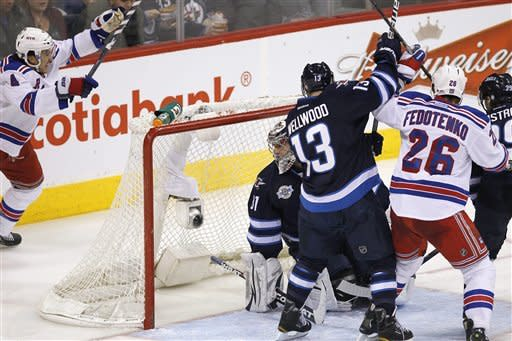 Rangers rally to complete season sweep of Jets