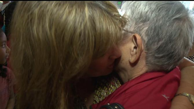 Daughter Reunites With Birth Mom After 52 Years