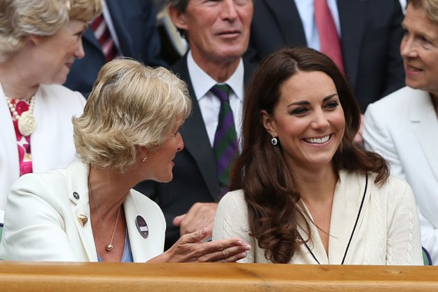 Kate Middleton the Duchess of Cambridge at Wimbledon