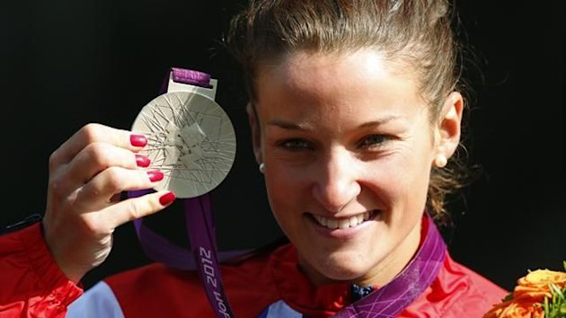Lizzie Armitstead, silver, London 2012 (Reuters)
