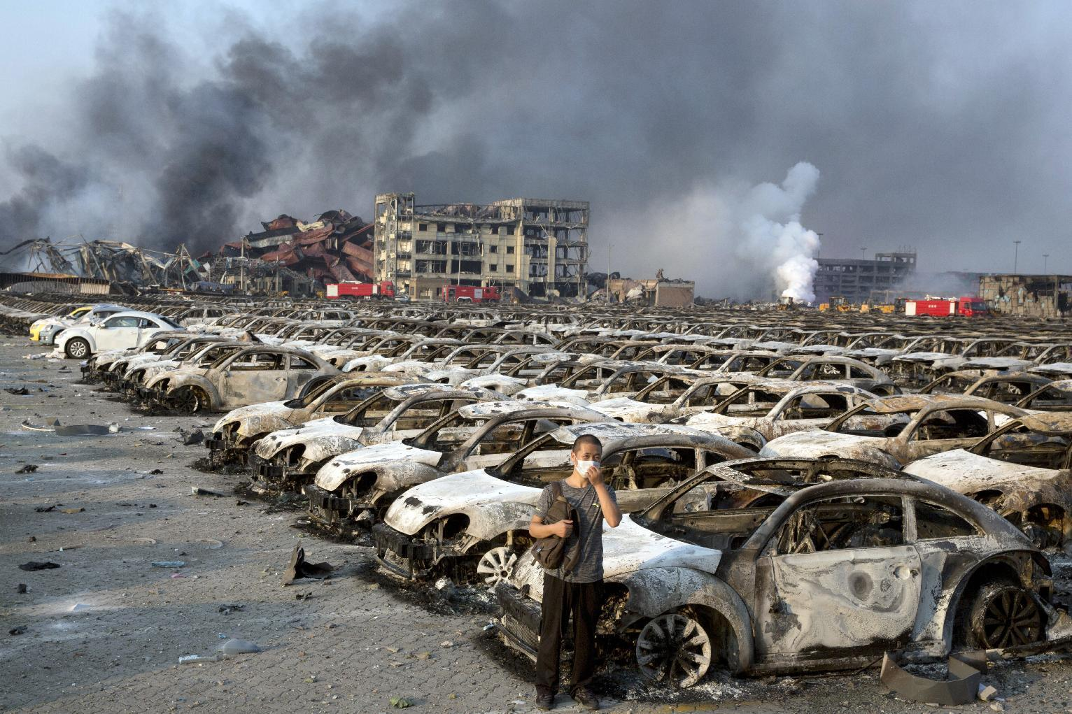China probe says stored chemical caused Tianjin blasts