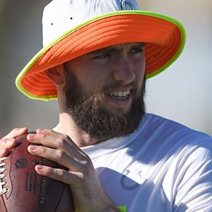 Andrew Luck shaves his neck beard
