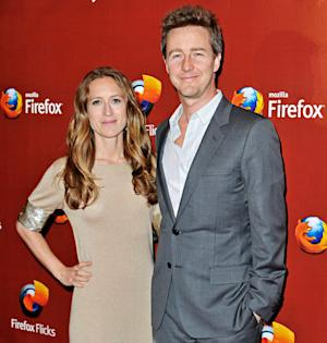 Edward Norton's Fiancee Shauna Robertson Gives Birth to a Baby Boy!