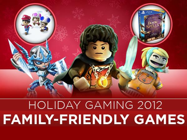 Holiday Gaming 2012 Family Friendly Games