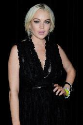 Lindsay Lohan is spotted at the Givenchy aftershow party at L'Arc in Paris on October 2, 2011  -- Getty Premium