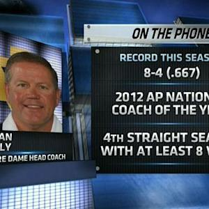 Brian Kelly talks Notre Dame football