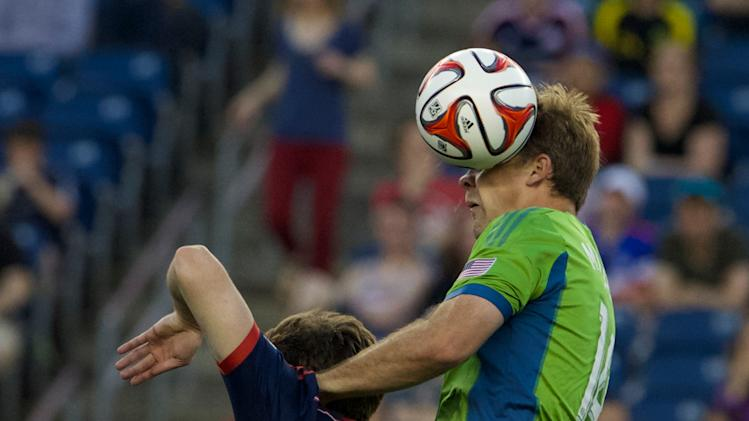 MLS: Seattle Sounders at New England Revolution