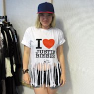 We challenged Features Writer Lena to make a Justin Bieber shirt look cool - find out how she did