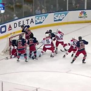 Henrik Lundqvist Save on Jeff Skinner (04:43/2nd)