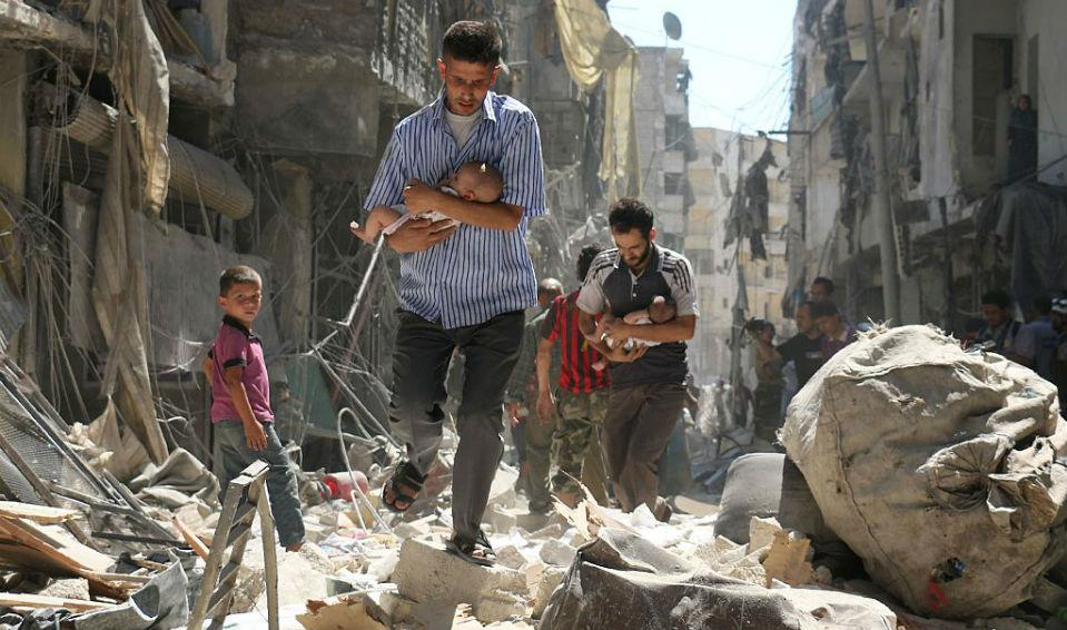 We Are All Accomplices to the Slaughter of Aleppo