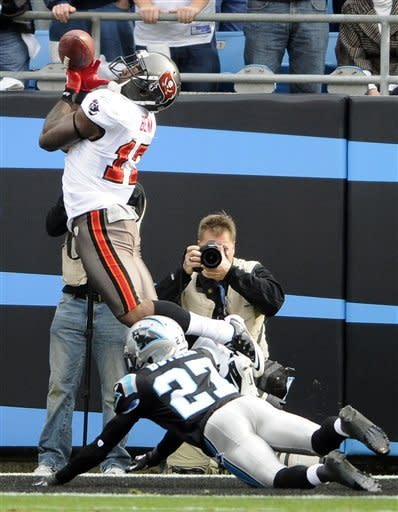 Newton leads Panthers to 48-16 rout of Bucs