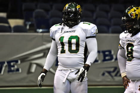 San Jose SaberCats DL Joe Sykes Named Arena Football League Defensive Player of the Year:  Fan Take