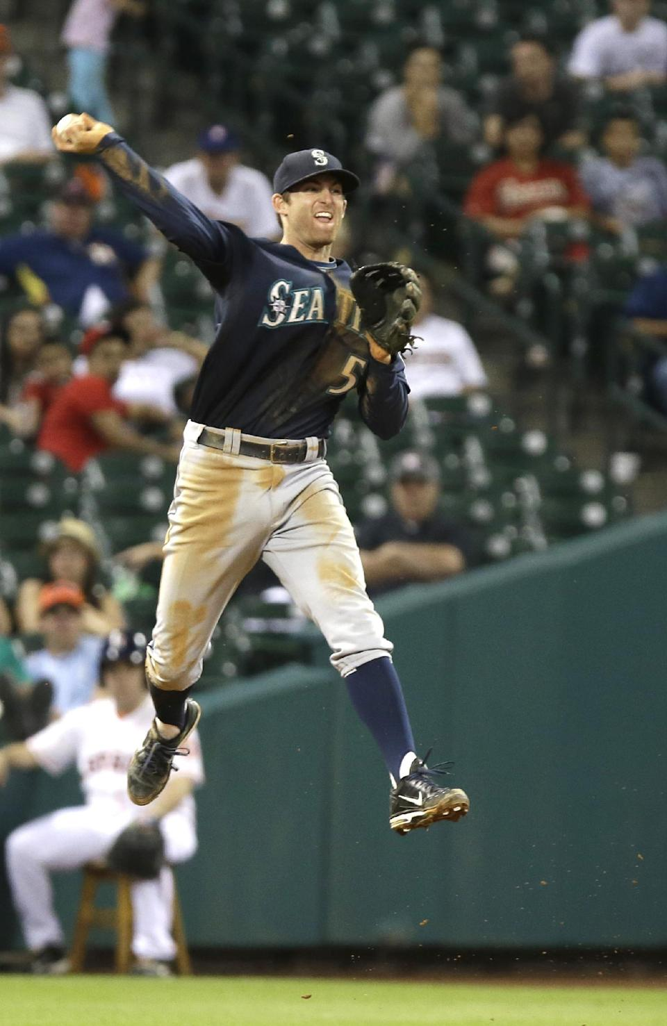 Mariners beat Astros 3-1 for 3rd straight victory