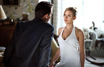 Jonathan Rhys-Meyers and Scarlett Johansson in DreamWorks Pictures' Match Point