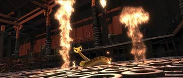Master Viper (voiced by Lucy Liu ) in DreamWorks Animation's Kung Fu Panda
