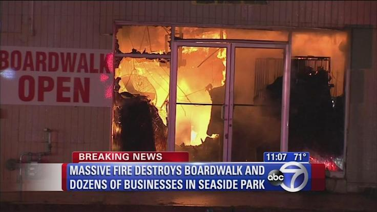 Seaside Park to rebuild again after fire