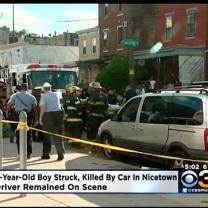 Police: 6-Year-Old Boy Struck, Killed By Vehicle In Nicetown