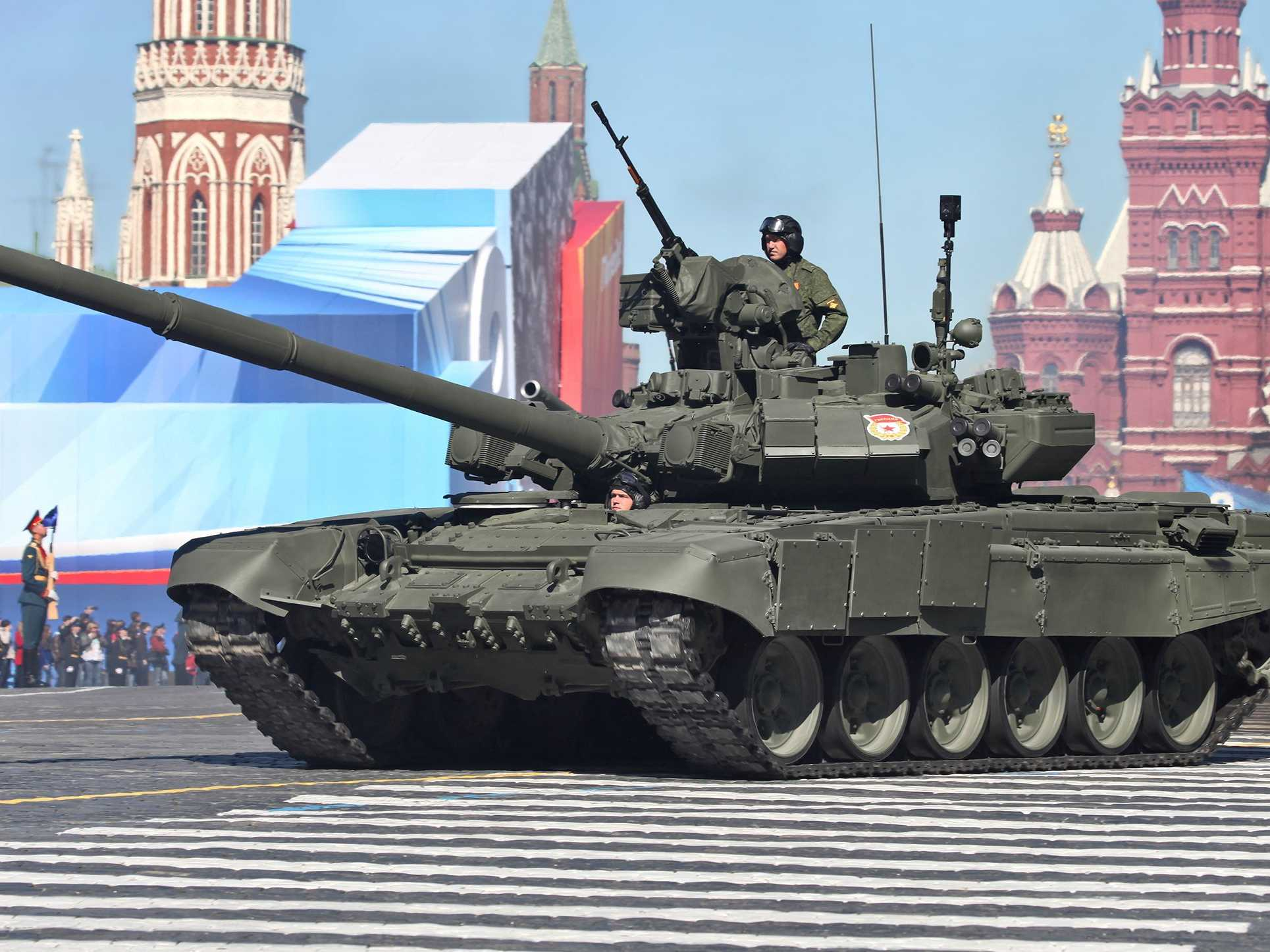 These are the tanks Russia is setting up in Syria