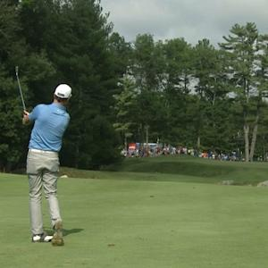 Zach Johnson's 185-yard approach yields birdie at Deutsche Bank