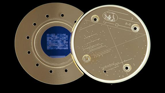 Photo Album of Human History Launched into Space