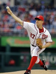 Jordan Zimmermann.  Alex Brandon / The Associated Press